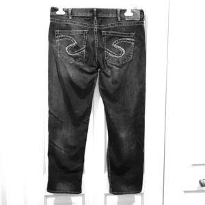 Silver Sam Biyfriend Jeans, W34 L26